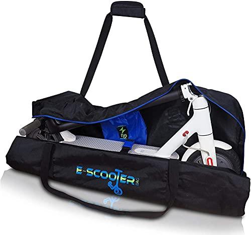E-Scooter Bag | Housse Trotinnette électrique, Accessoires trotinette Xiaomi M365 Compatible avec Ecogyro, GScooter, Cecotec, avec Espace pour Le Chargeur