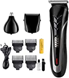Hair Clipper Hair Trimmer Professional Multifunctional Hair Clipper Cordless Haircut Set Beard Trimmer Kit para hombres Electric Beard Shaver