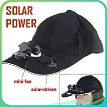 Global Craft Baseball Hat/Cap with Solar Powered Cooling Fan Model 39276