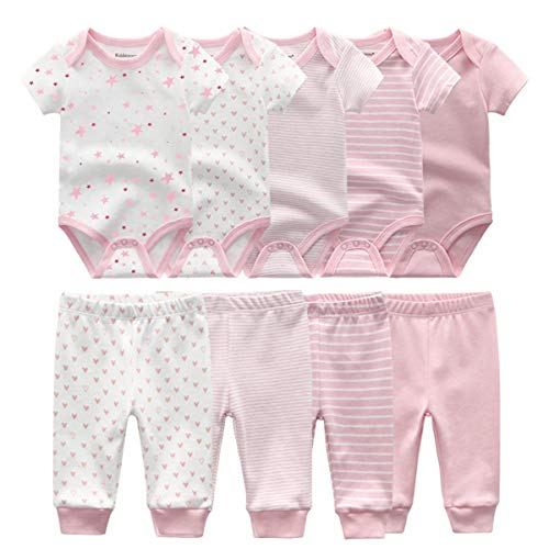 Kiddiezoom Unisex Baby Bodysuits...