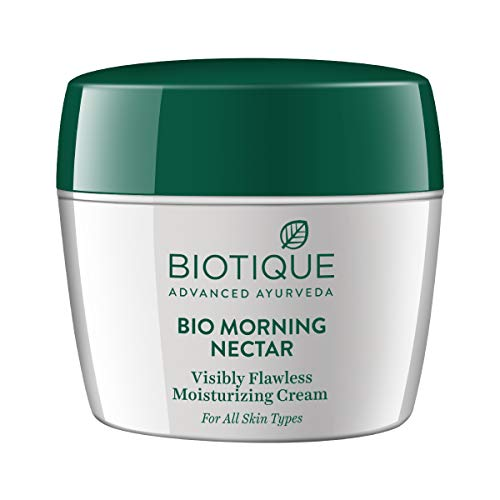 Biotique Bio Morning Nectar Visibly Flawless Moisturizing Cream, 175g