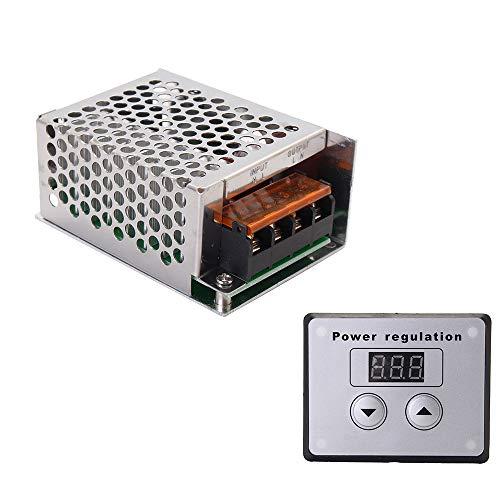 Sun3drucker 4000W SCR Digital Spannungsregler Dimmer Elektromotor Speed Temperaturregler Fuer Warmwasserbereiter Kleine Motoren Wechselstrom 220 V