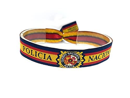 Pulsera de la Policía Nacional