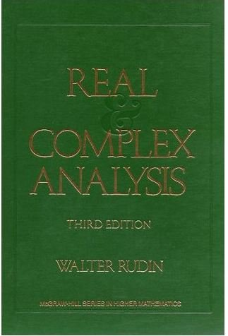 Real and Complex Analysis(表紙は赤と緑2種類があります)の詳細を見る