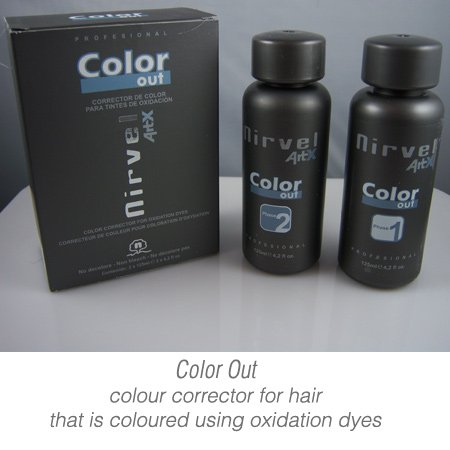 Color Out - Hair colour corrector ( remover ) for oxidation dyes by ArtX