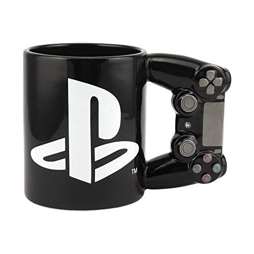 Paladone PP5853PS Playstation 4th Gen Controller Mug - Ceramic Coffee Mug for Gamers