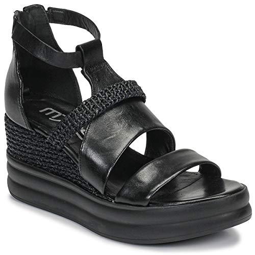 Mjus Bellanera Sandalen/Sandaletten Damen Schwarz - 41 - Sandalen/Sandaletten Shoes