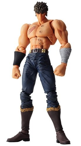 Fist of The North Star: Revoltech Kenshiro Last Battle Action Figure [Toy] (japan import)