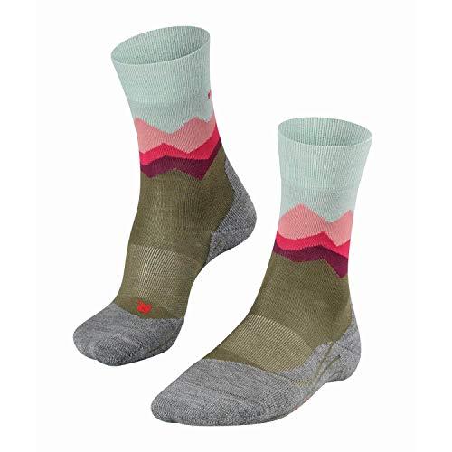 FALKE TK2 Crest Trekking Socken thyme 37-38