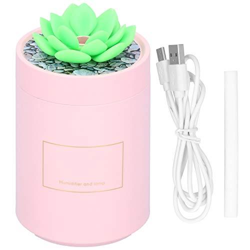 Garosa Mini humidificador USB en Forma de Cactus Mudo, Lindo humidificador de Oficina de Escritorio pequeño difusor para Oficina en casa, Dormitorio