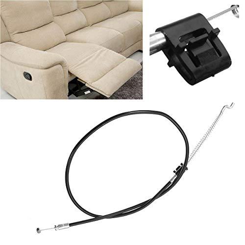 Interruptores para Automóviles Sillón reclinable de automóvil Manija de presión multifunción de presión de reemplazo de cable de reemplazo de cable de reemplazo de sofá 14 cm 90 cm Interruptor de pala