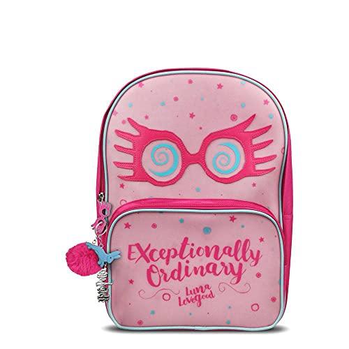 Groovy Harry Potter Luna Lovegood - Mochila escolar para niña, color rosa, Pink, Large para Niñas
