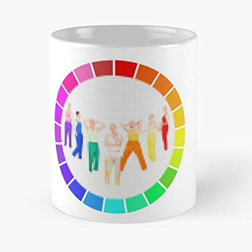 Lauv How I'm Feeling Colorwheel Patch Classic Mug - 11 Oz Coffee Mugs Unique Ceramic Novelty Cup, The Best Gift For Holidays.