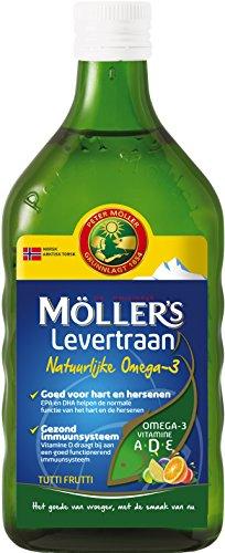Möller's Omega-3 Tutti Frutti met levertraan (250 ml)