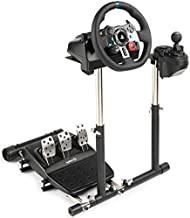 GTRACING Racing Wheel Stand Gaming Steering Wheel, Pedals, Shifter Mount Compatible with Logitech G29 G923 G920 G27 G25 for PC/PS4/Xbox Adjustable Racing Simulator Stand Only