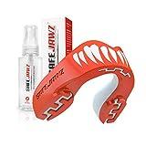 SAFEJAWZ Sport Protège-Dent et Spray désinfectant Paquet Protection intégrale pour Tous Les Sports, notamment Le Rugby, MMA, Hockey, Judo, Karate, Les Arts Martiaux et la Boxe