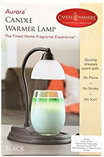 Sponsored Ad - Candle Warmers Aurora Lamp, Black, 10-1/2 x 5 Inches