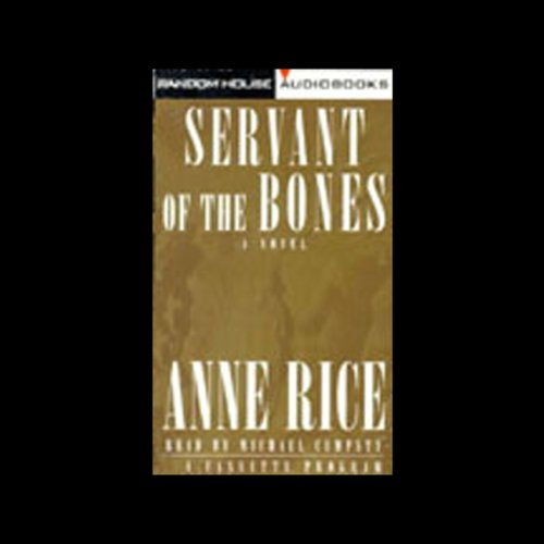 Servant of the Bones audiobook cover art
