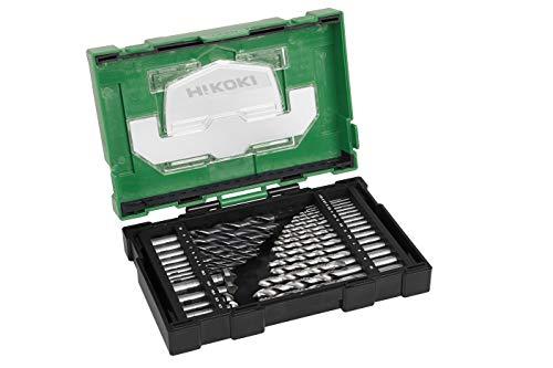 Hitachi HSS-Bohrer & Senker-Set 40030031 29tlg. (BOX III), 10 W, 240 V