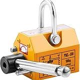 VEVOR 100kg Magneti di Sollevamento U-Maniglia Industriale Supporto Controllata Sollevamento Magnete 100kg Carico Di Lavoro Limite