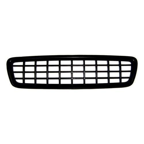 Grill zonder logo voor Volvo V70 01-04, zwart