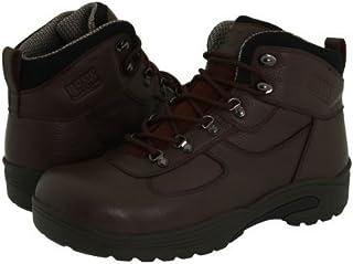 Drew(ドリュー) メンズ 男性用 シューズ 靴 ブーツ 安全靴 ワーカーブーツ Rockford Waterproof Boot - Brown Tumbled Leather [並行輸入品]