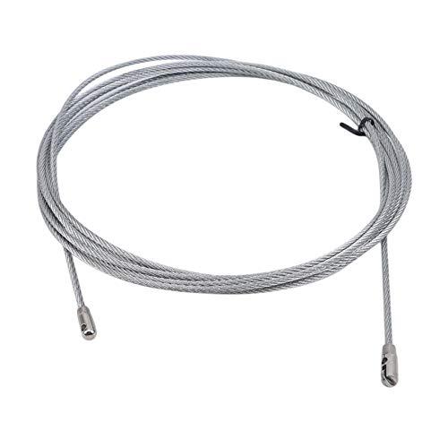 Lionmer A6A01 - Herramienta de enhebrador de cables de acero eléctrico (5 m)