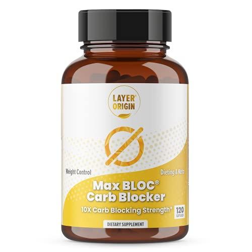 MAX BLOC Carb Blocker | Weight Control, Suppress...
