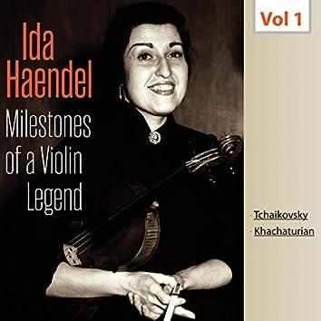Milestones of a Violin Legend - Ida Haendel, Vol. 1