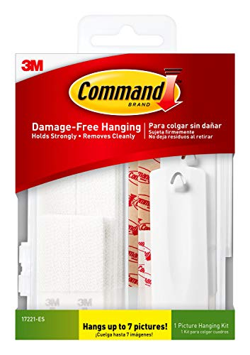 Command 24pc Picture Hanging Kit White