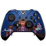 Skinit Decal Gaming Skin Compatible with Xbox One Elite Controller - Officially Licensed Disney Aladdin and Jasmine Magic Carpet Design
