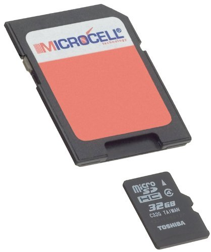 Microcell sdhc 32GB geheugenkaart voor Samsung Galaxy S5 / Samsung Galaxy S3 SIII / S4 (i9500) / Galaxy S Plus i9001 / Samsung Galaxy ace duos i589 en andere modellen
