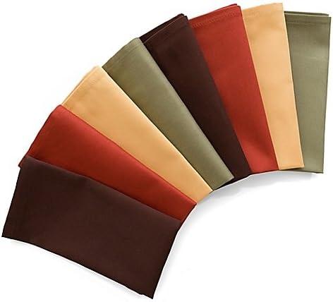 8-Pack Harvest Napkins in Assorted Colors 3 Super sale of Set Max 56% OFF