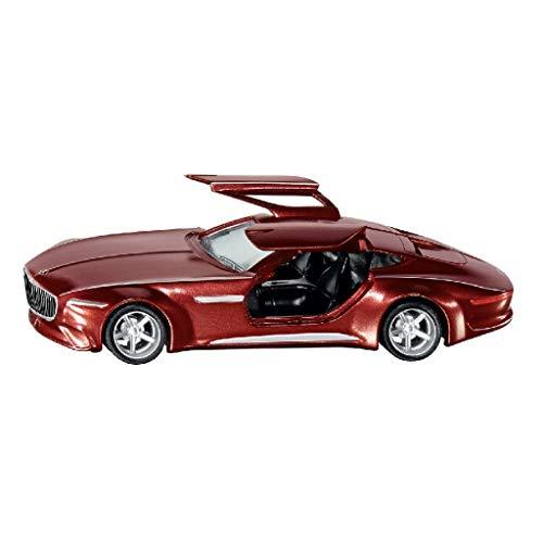 SIKU 2357, Vision Mercedes-Maybach 6 Grand Coupé, 1:50, Metall/Kunststoff, Rot, Öffenbare Flügeltüren, Wechselbare Räder