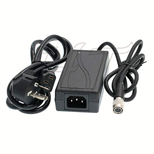 Adattatore industriale AVT CCD fotocamera Hirose 12 pin femmina AC DC alimentatore caricabatteria 12V 3A per Sony