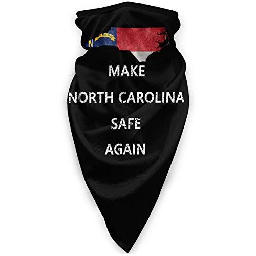 Machen Sie North Carolina wieder sicher Unisex winddichter Sportschal Outdoor Halswärmer Bandana Sturmhaube Kopfbedeckung