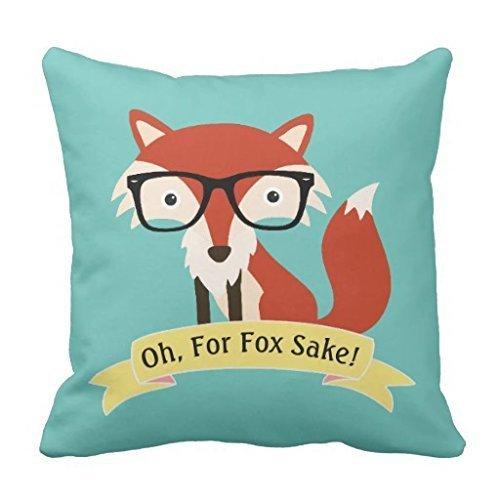 warrantyll Oh für Fox Sake Home Sofa Baumwolle Dekokissen quadratisch Überwurf Kissen Bezüge, baumwolle, #Color 1, 16