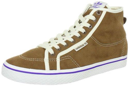 adidas Originals HONEY MID W G16713, Damen Sportive Sneakers, Braun (LEATHER / LEATHER / LEGACY), EU 40 2/3 (UK 7)