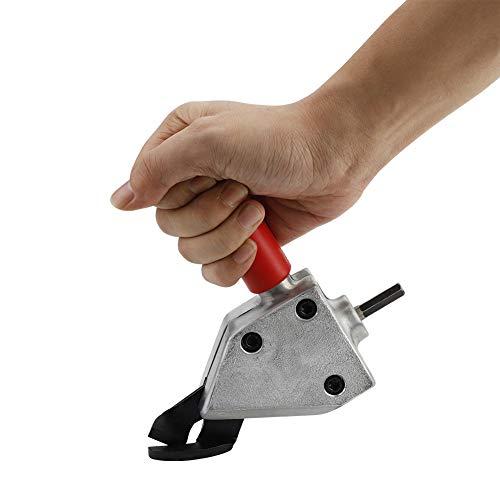 Cortador de Chapa Nibbler de Metal Herramienta para Cortar Sierra de Chapa de Hierro y Acero Accesorios para Taladro Eléctrico