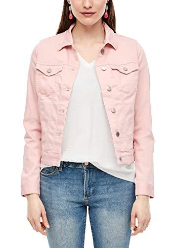 s.Oliver RED Label Damen Jeansjacke in Unicolor Light pink 46