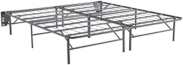 Ashley Furniture Signature Design - Better than a Boxspring Mattress Riser - Under Bed Storage Space - King - Gray