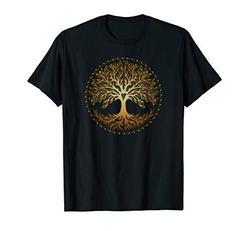 Yggdrasil, Baum des Lebens, Tree of Life, Keltisch, Nordisch T-Shirt
