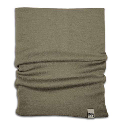 Minus33 Merino Wool 730 Polaina de cuello de peso medio Tan 499 Talla única