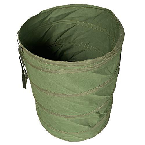 Benz Garden® |NEUHEIT 2020| Pop-Up Gartensack 272 Liter - Selbstaufstellend - Gartentasche aus extrem robustem Leinengewebe - langlebiger Laubsack - Gartenabfallsäcke