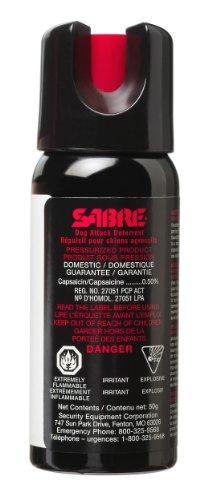 SABRE Spray pour chien – Force maximale – Taille professionnelle (50 g)