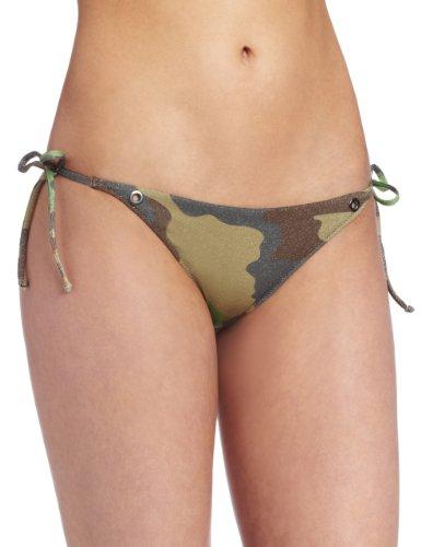 Diesel Bikini-Hose grün XS