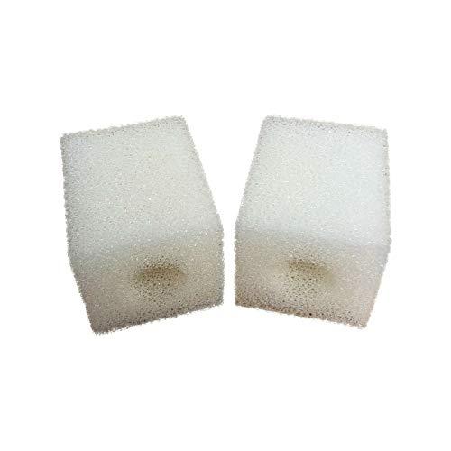 Paquete de 2 esponjas de espuma para filtros de acuario compatibles Eheim Pickup 60 (2008)