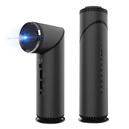 NCBH Accuhouder voor mini-projector, intelligent, Android, draagbaar, bluetooth-speler, HD-projector met zaklamp