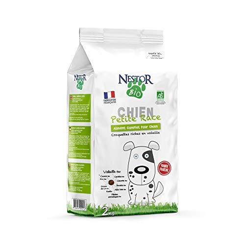 Nestor Bio Trockenfutter für kleine Rassen – 2 kg