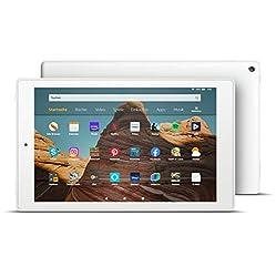 Das neue FireHD10-Tablet│10,1Zoll großes FullHD-Display (1080p), 32 GB, Weiß mit Spezialangeboten